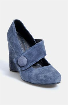 Børn Crown 'Lusi' Pump available at #Nordstrom  I love this button and the color!