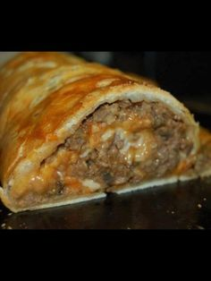 Make and share this Stuffed Meatloaf Roll recipe from Food.com.