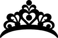 Crown Stickers Crown Decals Car Stickers Crown Silhouette Crown Stencil Crown Tattoo Design