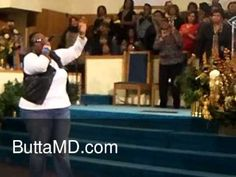 "Butta MD at New Olivet Baptist Church, for October 30th, 2011 Women's Month.  ""Brighter Day"" (Keep Going)."