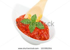 Stock Photo:  Italian Cuisine - Bowl with fresh ragù and basil.   Copyright: ShopArtGallery   Keywords: background, basil, bowl, closeup, condiment, cooking, cuisine, delicious, eating, food, fresh, freshness, green, healthy, ingredient, isolated, italian, juice, juicy, meal, mediterranean, natural, nutrition, object, ragÃ?¹, red, sauce, seasoning, spoon, tomato, vegetarian, white