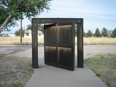 The Donald Judd door