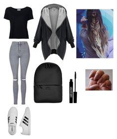 """Sans titre #255"" by israa-samraa on Polyvore featuring mode, Topshop, adidas, Frame Denim, Rains et Lord & Berry"