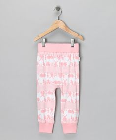 Take a look at this Coral Heidi Organic Pants - Infant by Broken Tricycle on #zulily today!