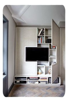 Woodworking Projects Chair cool 47 Cute Diy Bedroom Storage Design Ideas For Small Spaces.Woodworking Projects Chair cool 47 Cute Diy Bedroom Storage Design Ideas For Small Spaces Storage Design, Shelving Design, Small Apartments, Studio Apartments, Home And Living, Cozy Living, Furniture Design, Furniture Ideas, Tv Furniture