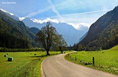 Landscape park Logar Valley in Slovenia