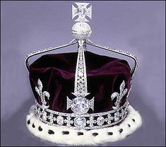 The Crown of Queen Elizabeth the Queen Mother.  She wore it with the arches removed at her daughter's coronation in 1953.