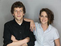 Jesse Eisenberg et Kristen Stewart