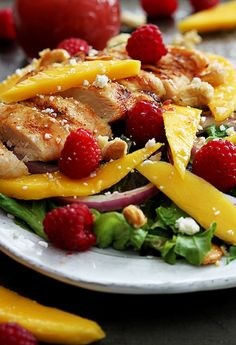 Looking for Fast & Easy Chicken Recipes, Lunch Recipes, Main Dish Recipes! Recipechart has over 5,000 free recipes for you to browse. Find more recipes like Raspberry Mango Chicken Cashew Salad.