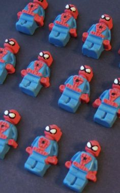 Lego Spiderman toppers - Visit to grab an amazing super hero shirt now on sale!
