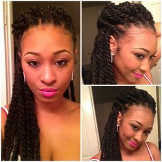 Show & Tell: Mini Havana Twists (Protective Style for Natural Hair)