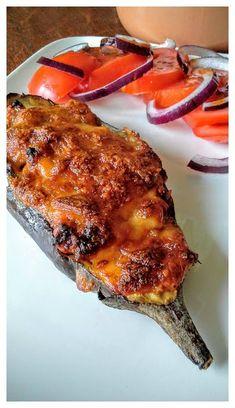 Tartines d'aubergine, mozzarella et sardines