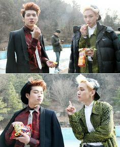 Woohyun and Key