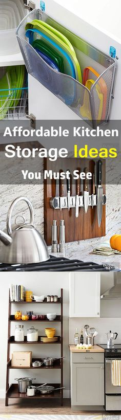 These 6 brilliant storage ideas have made my home SO MUCH bigger! I'm so happy I found this AWESOME post! I found a ton of great resources and now I don't feel so cramped in my small space. Definitely pinning for later!
