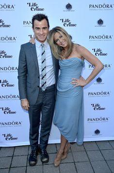 Jennifer Aniston and Justin Theroux at the Toronto International Film Festival.