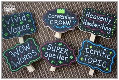 Highlight writers by hanging their work in these cute clips that have specific praise. Vocab, punctuation, openers, connectives, handwriting and story/topic ideas? Second Grade Writing, 4th Grade Reading, Classroom Organisation, Classroom Fun, Classroom Management, Kindergarten Writing, Teaching Writing, Teaching Ideas, Writing Lessons
