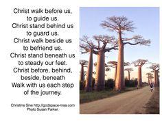 Meditation Monday - Christ Walk With Us
