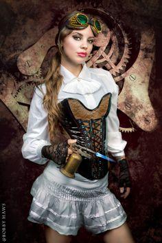 Steampunk girls :o)~