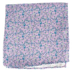 Peninsula Floral pocket square - Lilac | Ties, Bow Ties, and Pocket Squares | The Tie Bar