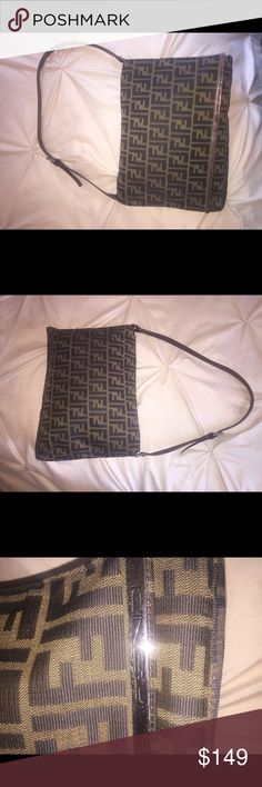 Fendi Shoulder Bag Excellent Condition Authentic Fendi Bag Fendi Bags
