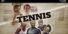 ESPN reviews the best of #tennis in 2013, using Shorthand.