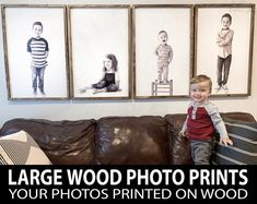 Photo Frame - Photography Tips You Can Count On Today Metal Clock, Metal Wall Art, Photo Print Sizes, Large Photo Prints, Kids Canvas, Print Your Photos, Piece A Vivre, Photo On Wood, Canvas Pictures