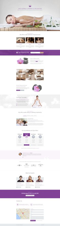 WellnessCenter and Spa Landing Page - Download http://themeforest.net/item/wellnesscenter-and-spa-landing-page/11553721?ref=pxcr