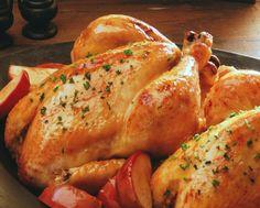 Фаршированный цыпленок в сицилийском стиле - Портал Домашний