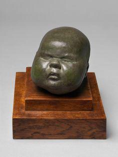 Baby's Head, 1926. Henry Moore