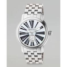 Brera Valentina III Stainless Steel Watch Head, 42mm