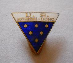 calcio distintivo US Rosmini Domo badge football pin