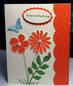Stampin' Up! Secret Garden Card.  Not just a Mother's Day Card.