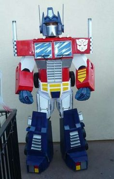 Optimus Prime - this is my weekend goal project with my kid