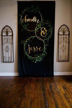 Organic Industrial Louisiana Wedding at Aubrey Hall