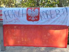 Supporting Robert #Kubica Curiosity, Legends
