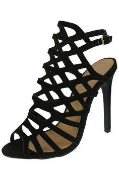 Sexy sandale gladiateur ajourée mode à talon haut pour soirée - Persun.fr Sandals, Sexy, Shoes, Style, Fashion, Gladiator Sandals, Daughters, Heels, Top