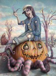 """Octopump Orgins"" From The ""Nightmare In Wonderland Project"" by Jim Mckenzie"