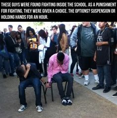They need to do this in more schools nowadays...