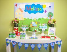 decoracion cumpleaños peppa pig - Buscar con Google