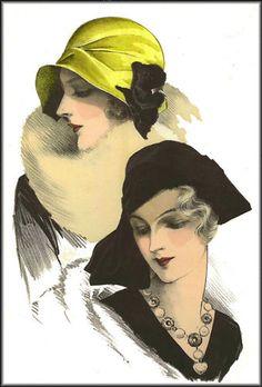 1920's hats