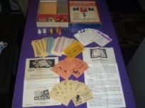 Vintage Monopoly 1936 Edition Pieces Accessories and Box NO BOARD FREE SHIPPING