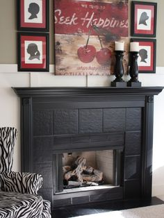 Tile Fireplace Surround Design, Pictures, Remodel, Decor and Ideas - page 3