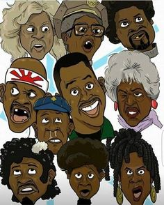 32 Best Black Cartoon Characters Images Black Cartoon Black