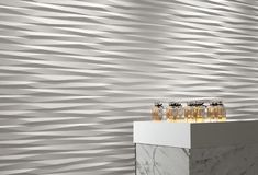 Discover the three-dimensional ceramic tile surfaces of Wall wall tiles by Atlas Concorde, to furnish any room in your home with elegance and dynamism. 3d Wall Tiles, Bath Tiles, Concorde, Master Bathroom Vanity, Modern Bathroom Lighting, Big Bathrooms, Interior Decorating, Interior Design, Chiaroscuro