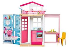Barbie 2-Story House with Furniture & Accessories >>> See this great product.
