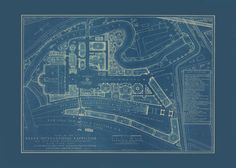 BRONX INTERNATIONAL EXPOSITION Map of the by EncorePrintSociety