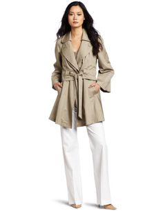 $229 - Amazon.com: Heartloom Women's Billie Trench Coat: Clothing - I'm liking the belt casing treatment.