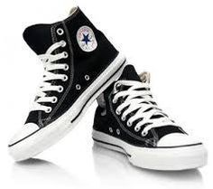 The iconic Chuck Taylor high top from Converse in classic colors