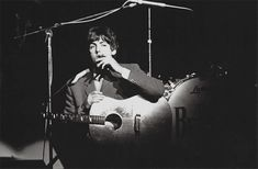 """mclennonwasreal: """"""""Paul, ABC Theatre, Blackpool, August 1 1965. """" """""""