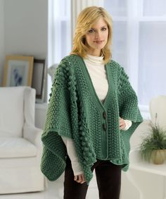 Aran Toggle Wrap